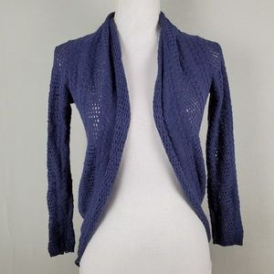 Anthropologie Knitted & Knotted Shrug Cardigan